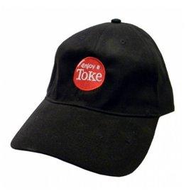 No Bad Ideas Logo Enjoy A Toke Cap