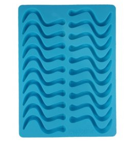 Dope Molds Gummy Worm Mold Blue