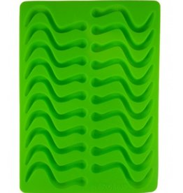Dope Molds Gummy Worm Mold Green