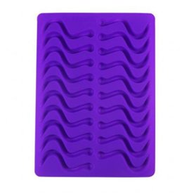 Dope Molds Gummy Worm Mold Purple
