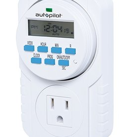 AutoPilot HYD 7 Day Grounded Digital Programmable Timer