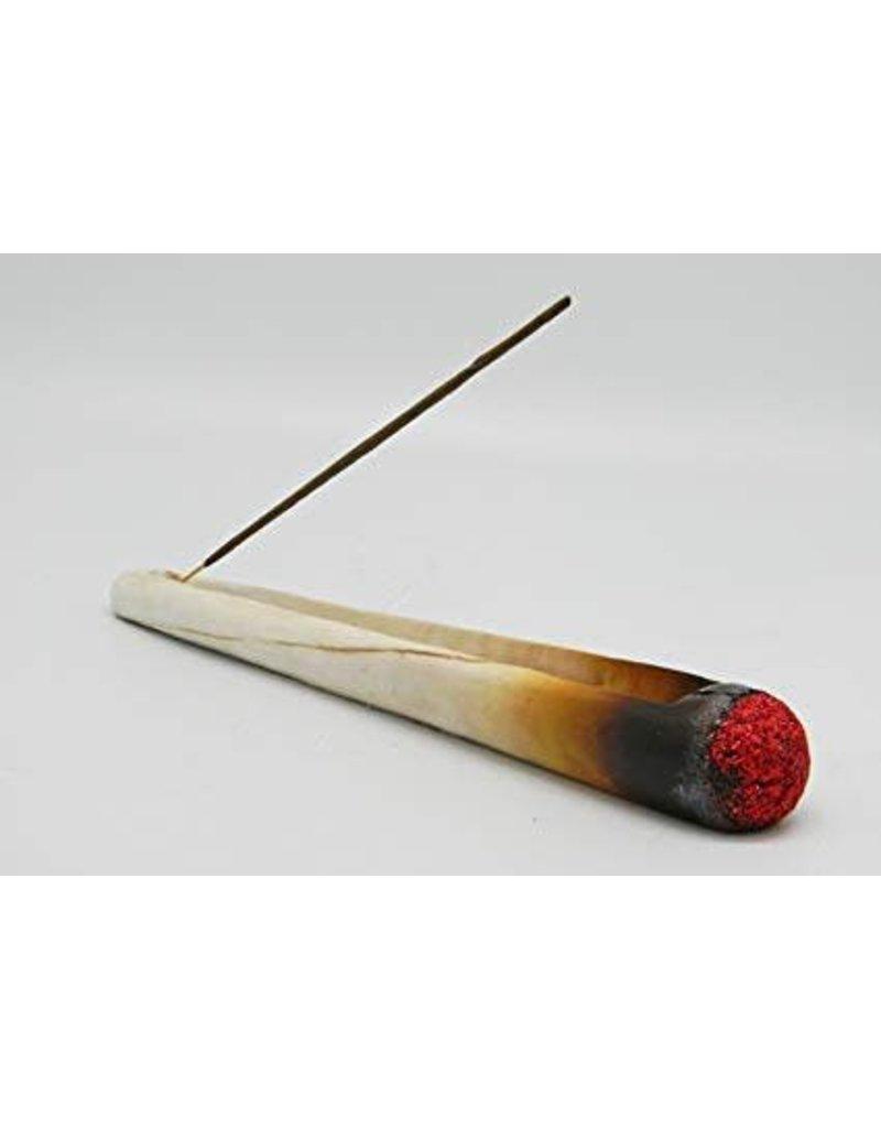 """10.5"""" Burning Cigarette Incense Burner"""