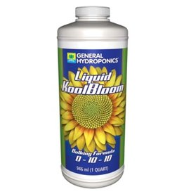 General Hydroponics GH Liquid KoolBloom 946ml 1 Quart