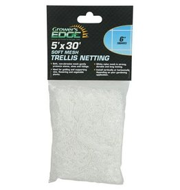 "Grower's Edge Grower's Edge Soft Mesh Trellis Netting 5ft x 30ft /w 6"" Squares"