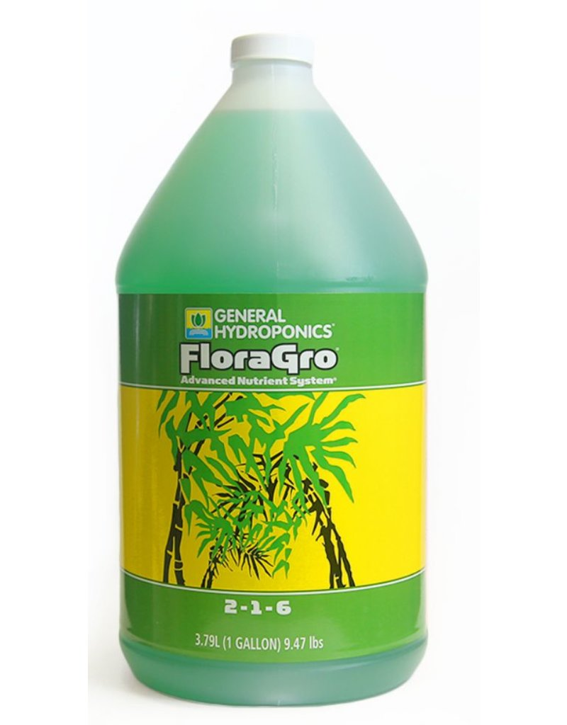 General Hydroponics GH Flora Gro - 1 Gallon / 4 Liter