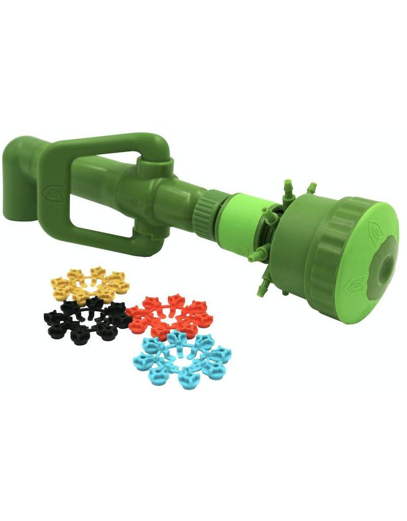 """FloraFlex Flora Flex Quick Disconnect Pipe System Multi Flow Bubbler 3/4"""" Elbow"""