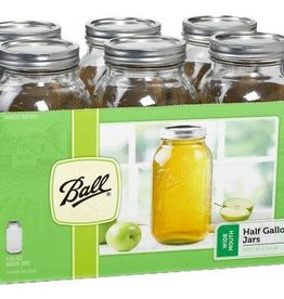 Ball Ball Jars Wide Mouth Half Gallon
