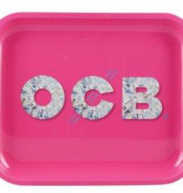 OCB OCB Large Metal Rolling Tray Diamond