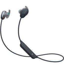Sony WISP600N Écouteurs intra-auriculaires sans fil à réduction du bruit sports-Noir