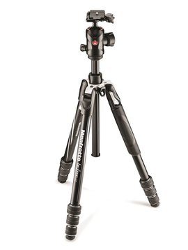 Manfrotto traveler BeFree Tripod with Ball Head -Gray