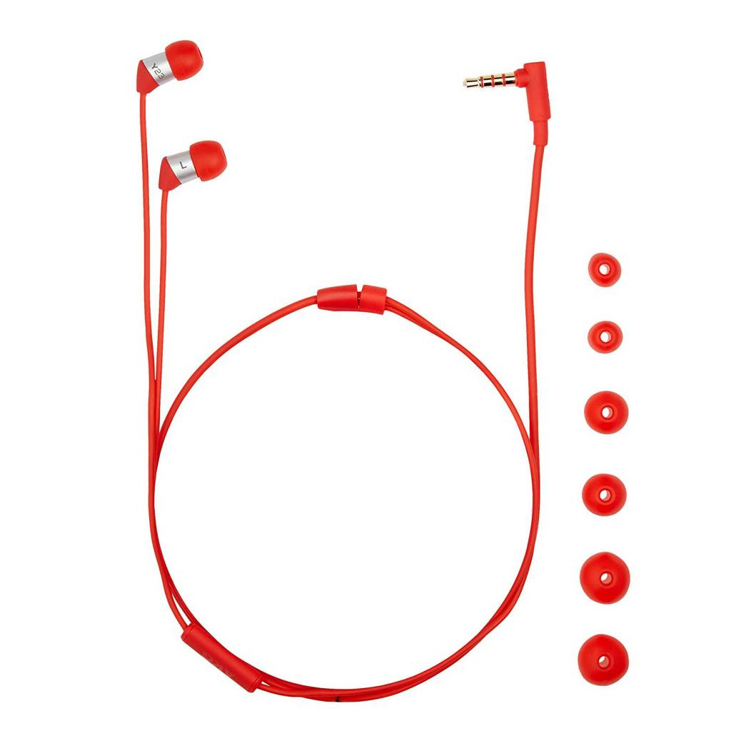 AKG Y23 XS In-Ear Headphones With Remote/Mic - Red
