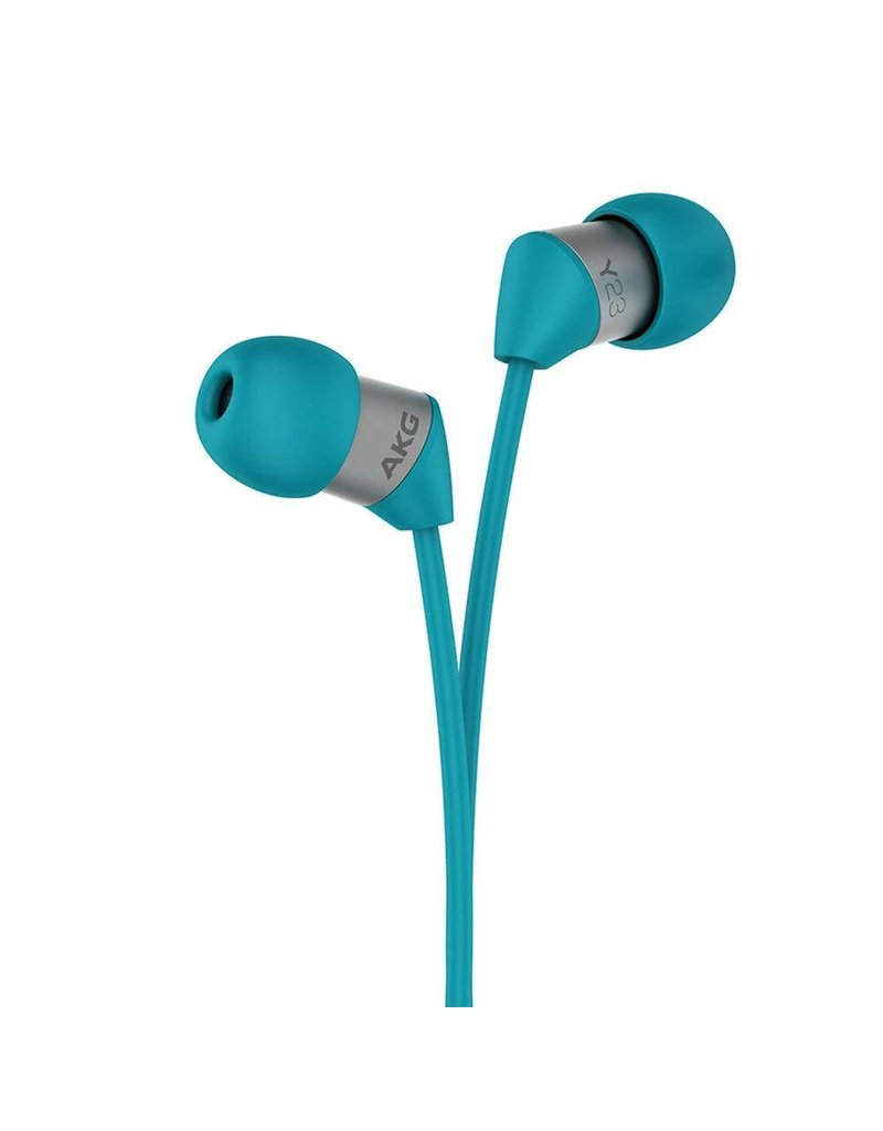 AKG Y23 XS In-Ear Headphones With Remote/Mic - Teal