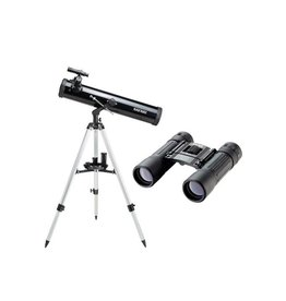 Safari SAF70076K 76  x 525mm Reflector Telescope & Binocular Kit