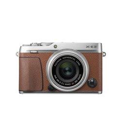 FujiFilm X-E3 Mirrorless Digital Camera Kit with 23mm f/2 WR Lens - Brown