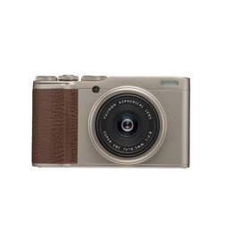 FujiFilm XF 10 Digital Camera with 18.5mm Wide Angle Lens - Champagne Gold