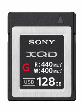 Sony 128GB XQD G Series Memory Card
