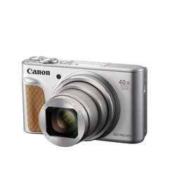 Canon PowerShot SX740 HS With case Silver