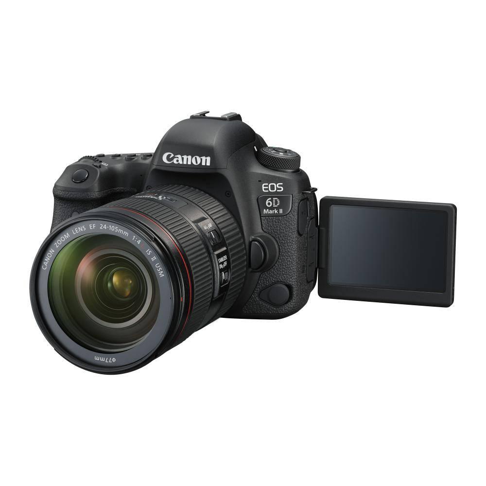 Canon EOS 6D Mark II Full frame DSLR appareil photo avec  24-105mm f/4L II Objectif