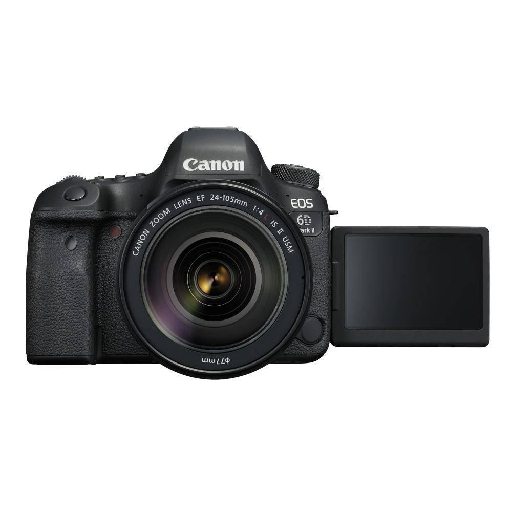 Canon EOS 6D Mark II Full frame DSLR Camera with 24-105mm f/4L II Lens
