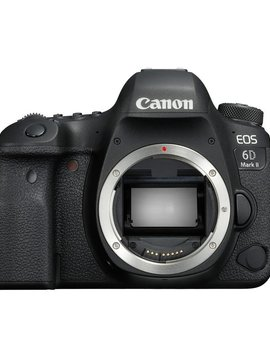 Canon EOS 6D Mark II Full frame DSLR Camera - Body Only