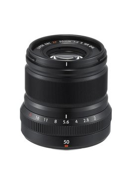 FujiFilm FUJINON Lens XF 50mm F2.0 R WR Black