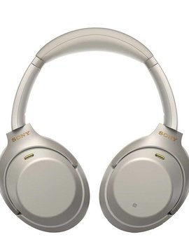 Sony WH-1000XM3/S - Over ear - Headphones with mic - wireless - noise canceling - Silver