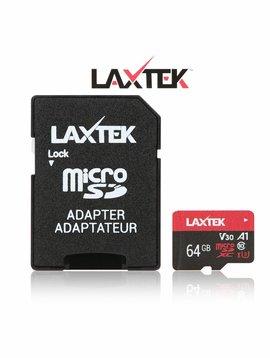 LAXTEK 64GB Micro SDXC