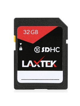 LAXTEK 32GB SD carte