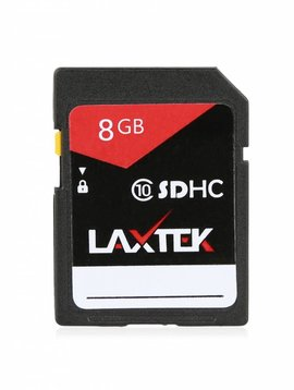 LAXTEK 8GB SD card
