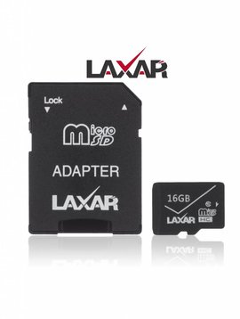 LAXTEK 16GB Micro SD Carte