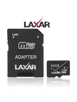 LAXTEK 64GB Micro SD carte