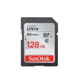 SanDisk 128GB Ultra UHS-I SDXC Memory Card - Class 10