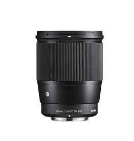 Sigma 16mm F1.4 DC DN Contemporary objectif pour Sony E Mount