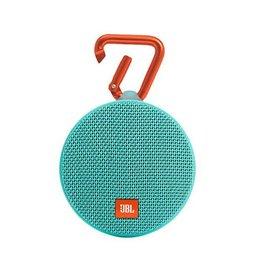 JBL Clip 2 Waterproof Portable Bluetooth Speaker, Teal