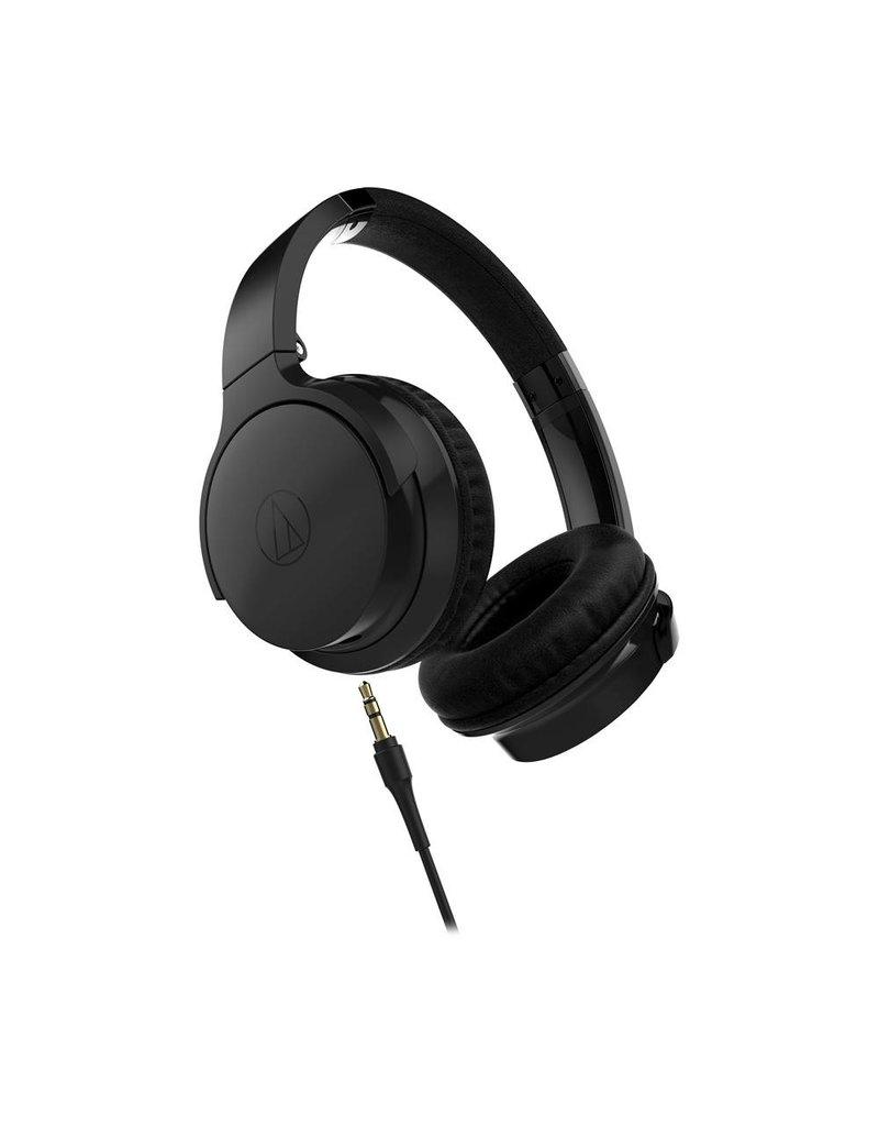 Audio-Technica ATH-AR3iSBK SonicFuel On-Ear Headphones Mic & Control, Black