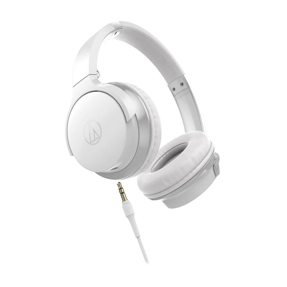 Audio-Technica ATH-AR3ISWH On-Ear Headphones - White