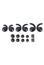 Audio-Technica ATHCKX9ISBK SonicFuel  In-Ear Headphones with Mic -Black