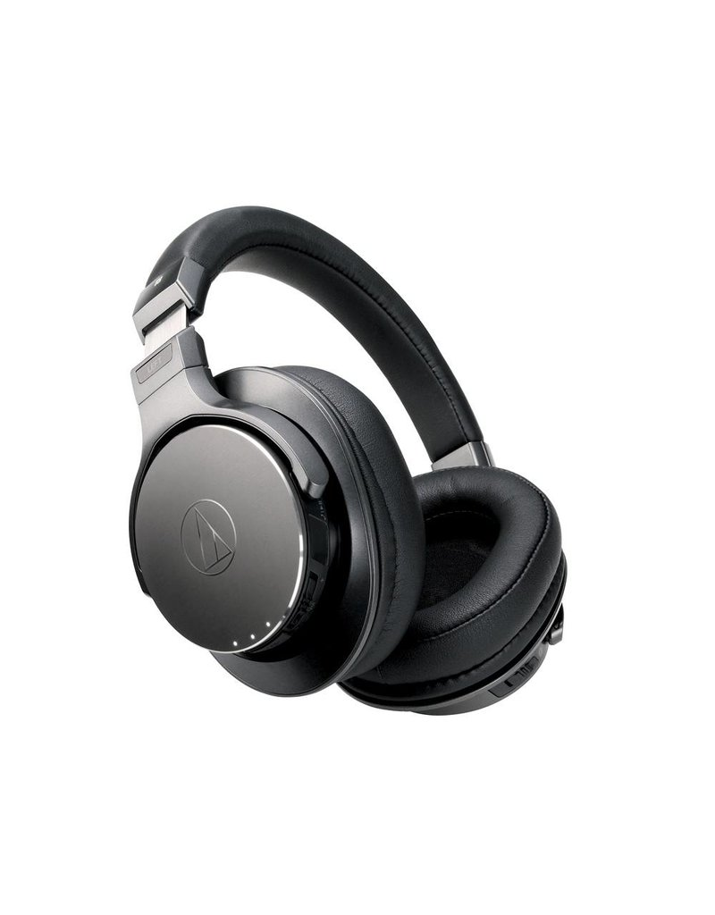 Audio-Technica  ATH-DSR7BT Ecouteur sur l'oreille sans fil avec lecteur digital pur