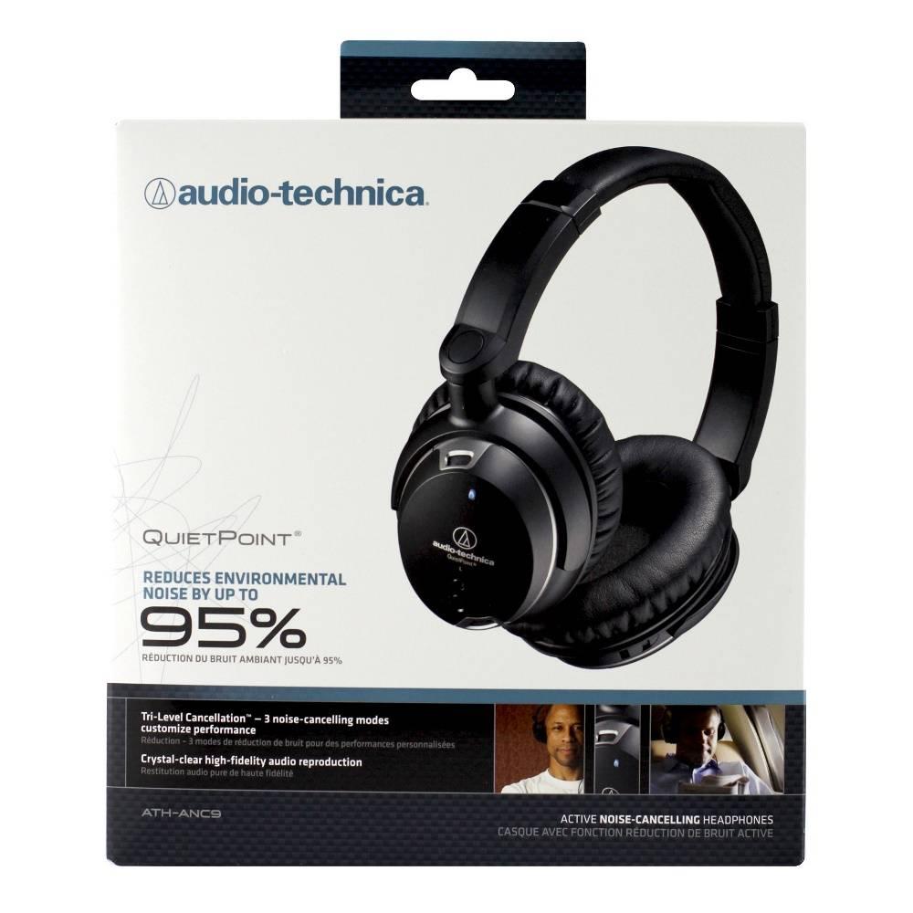 Audio-Technica ATH-ANC9  Consumer  QuietPoint Active Noise-Cancelling Headphones