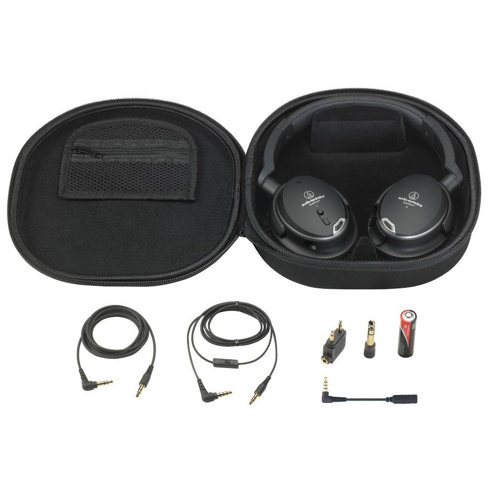 Audio-Technica ATH-ANC9  Ecouteur antibruit active avec Quietpoint