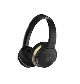 Audio-Technica ATHAR3BTBK Consumer SonicFuel Wireless On-Ear Headphones - Black