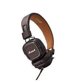 Marshall Audio Major II Bluetooth Headphones - Brown