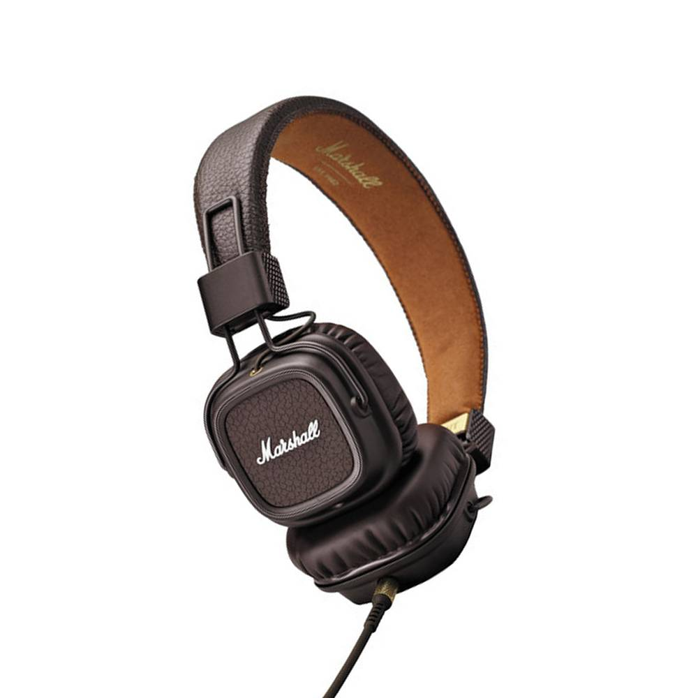 2c8b8777e786 Marshall Audio Major II Bluetooth Headphones (Brown)