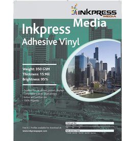Inkpress AV851120 MEDIA 350 GSM, 13 Mil, 95 Percent Bright Paper