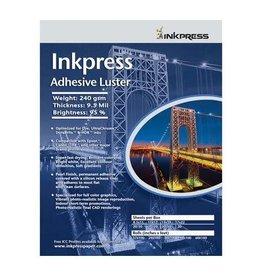 Inkpress AL851120 Adhesive Luster Inkjet Paper 8.5 x 11 inch