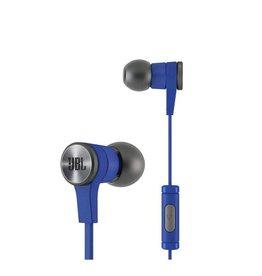 JBL E10 In-Ear Headphones 1 Button Mic/Remote - Blue