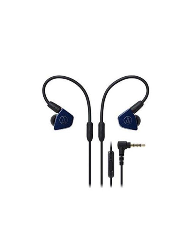 Audio-Technica  ATH-LS50ISNV Ecouteurs intra-auriculaires -Bleu