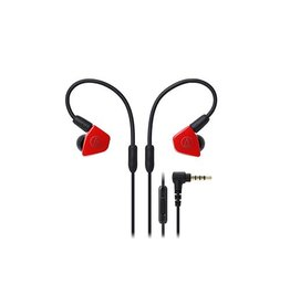 Audio-Technica ATH-LS50ISRD In-Ear Headphones - Red