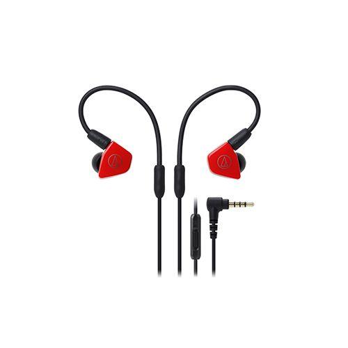 Audio-Technica  ATH-LS50ISRD In-Ear Headphones - Red