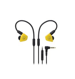 Audio-Technica ATH-LS50ISYL In-Ear Headphones - Yellow